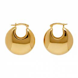 Sophie Buhai Gold Classic Cowbell Earrings Cowbell