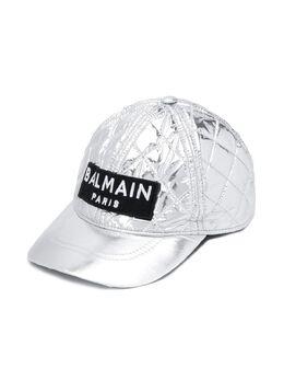 Balmain Kids - quilted baseball cap 633LD386953655980000