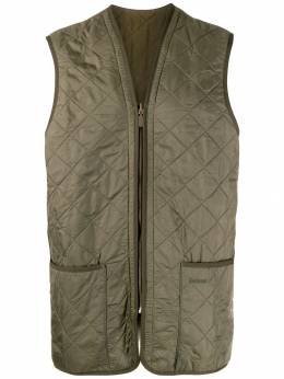 Barbour - quilted longline gilet PS696395386033000000