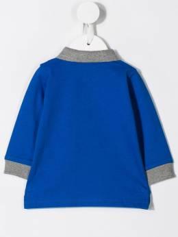 Moncler Kids - two-tone polo shirt 33568596F95386093000