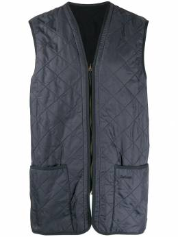 Barbour - quilted longline gilet PS696395386039000000
