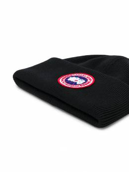 Canada Goose - embroidered logo beanie 936M3995355608000000