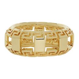 Versace Gold Greek Key Ring 192404M14701802GB