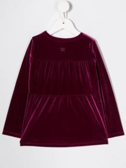 Douuod Kids - расклешенная блузка с длинными рукавами 93569953536930000000
