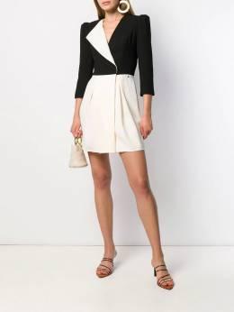 Elisabetta Franchi - colour block mini dress 5096E095368630000000