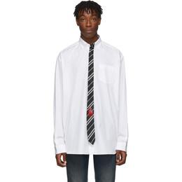 Vetements White Tie Shirt 192669M19201404GB