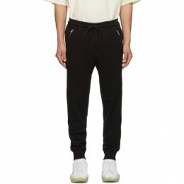 3.1 Phillip Lim Black Classic Tapered Lounge Pants 192283M19001002GB
