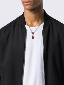 Valentino - Valentino Garavani Rockstud chain pendant necklace J6M09GMU953538680000