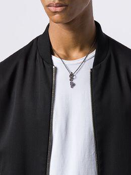 Valentino - Valentino Garavani Rockstud chain pendant necklace J6M00GMU953538660000