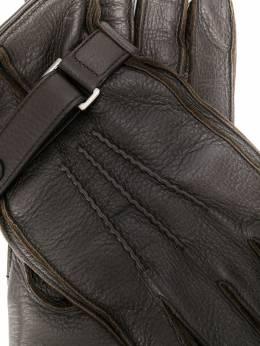 Ermenegildo Zegna перчатки с кнопками LHCVOGK259