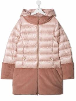 Herno Kids - faux fur lined padded coat 635G9069395339696000