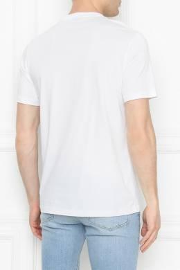 Хлопковая футболка с принтом Paul Smith 1924144501