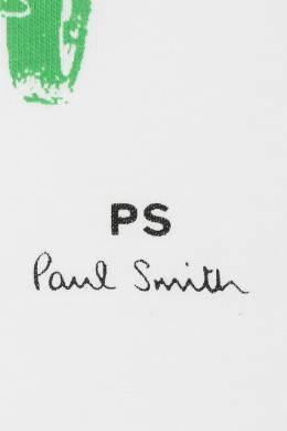 Белая футболка с принтом Paul Smith 1924144502