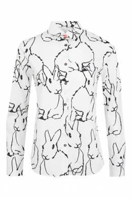 Рубашка с узором Paul Smith 1924144489