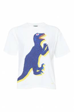 Хлопковая футболка с принтом Paul Smith 1924144189