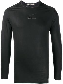 1017 ALYX 9SM - logo sweatshirt TS6658OT69BLK9556665