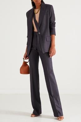 Серые брюки из шерсти Stella McCartney 193147067
