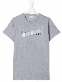 Lanvin Enfant - футболка с логотипом 609KB696936369650000