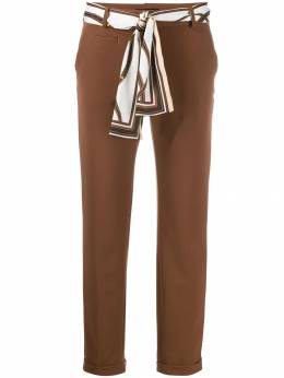 Cambio - scarf belted trousers 96369609530586300000