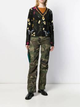 Twin-Set - rhinestone-embellished floral jumper MP303995330099000000