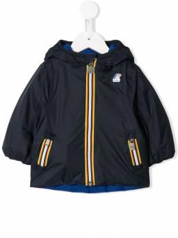 K Way Kids - logo printed rain coat 9K569535599300000000