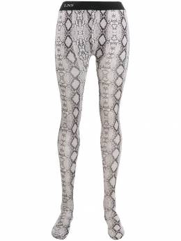 Laneus - snakeskin print tights 60955638850000000000