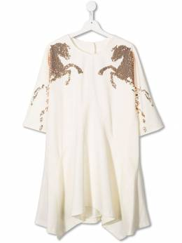 Chloé Kids - sequin embroidered dress 35690095566560000000