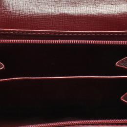 Cartier Red Leather Must de Cartier Wallet