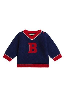 Сине-красный свитер Bonpoint 1210147606