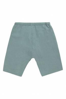 Голубые вельветовые шорты Bonpoint 1210147695
