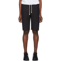 Champion Reverse Weave Black Logo Bermuda Shorts 192822M19300106GB