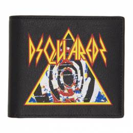 Dsquared2 Black Rock Bifold Wallet 192148M16400201GB