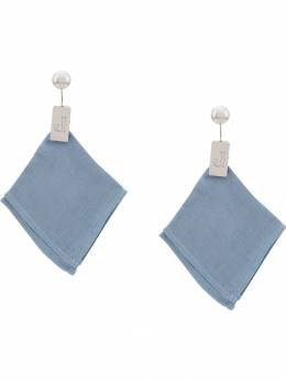 Jacquemus - cloth style earrings JW693335695565503000