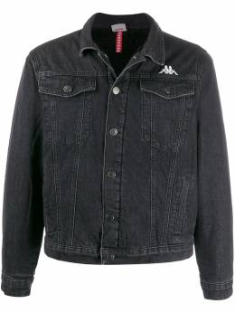 Kappa - embroidered logo denim jacket P3569538890800000000