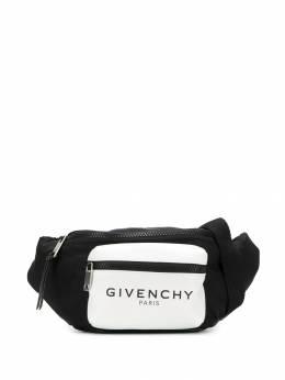 Givenchy - logo print belt bag 633K6MJ9538855900000