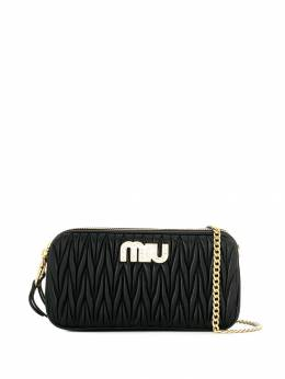 Miu Miu - Matelassé crossbody bag 6550BSQ9559585800000
