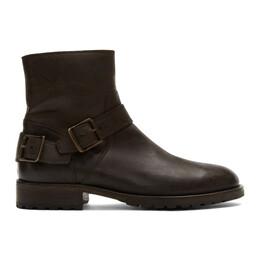 Belstaff Brown Trailmaster Boots 192084M22800307GB