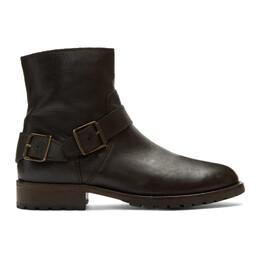 Belstaff Black Trailmaster Boots 192084M22800206GB