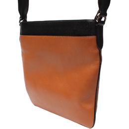Coach Brown/Black Leather Messenger Bag 219314