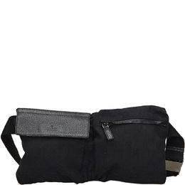 Gucci Black GG Canvas Belt Bag 215267