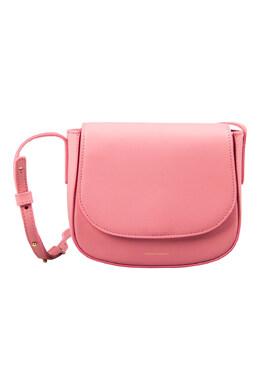 Mansur Gavriel Light Pink Leather Mini Crossbody Bag 201685