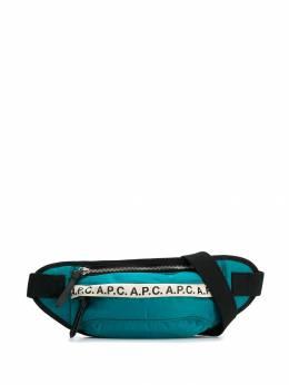 A.P.C. - поясная сумка с логотипом CLH60909953366600000