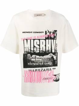 Misbhv футболка Entropy с графичным принтом 119M330