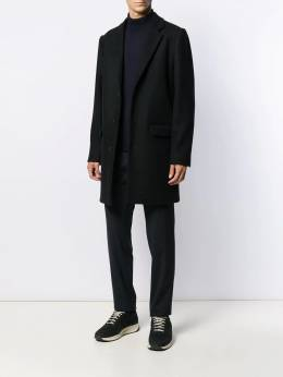 A.P.C. - single-breasted wool coat JUHO9636595389935000