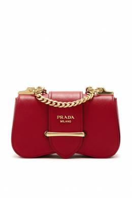 Бордовая сумка Sidonie Prada 40144963