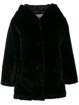 Herno - faux fur single-breasted jacket 059D9005995500355000
