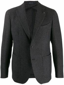 Tagliatore - houndstooth check suit jacket C00K33UIG98595353993