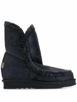 Mou - Eskimo wedge knitted boots W909666BCBKG95595069