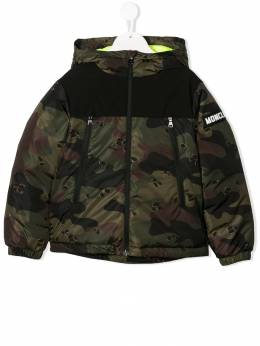 Moncler Kids - camouflage print padded jacket 0585C609895569689000