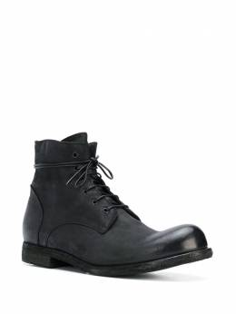 Officine Creative - distressed lace-up ankle boots BUBB663VERTI95399350
